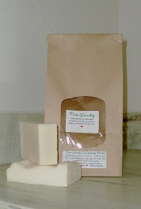 Castile soap and laundry powder